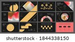 presentation template design.... | Shutterstock .eps vector #1844338150