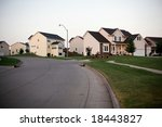 Suburban Side Street