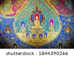 Buddha Image In Thai Painting...