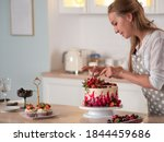 Cooking And Decoration Of Cake...