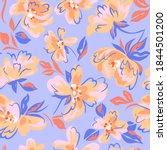 artistic floral background.... | Shutterstock .eps vector #1844501200