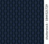 Monotone Blue Rhombus Shape...