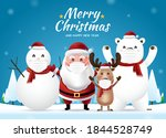 merry christmas and happy new... | Shutterstock .eps vector #1844528749