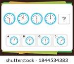practice questions worksheet... | Shutterstock .eps vector #1844534383