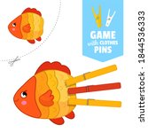 printable educational game with ...   Shutterstock .eps vector #1844536333
