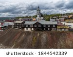 The Old Mining Town Roros In...
