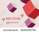 banner or poster for book... | Shutterstock .eps vector #1844550796