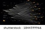 big complex data neural network ... | Shutterstock .eps vector #1844599966