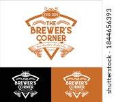 beer pub logo   butchers beer   ...   Shutterstock .eps vector #1844656393