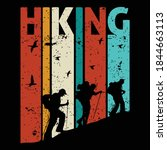 hiking quotes and 100  vector...   Shutterstock .eps vector #1844663113