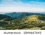Landscape Of Some Hills And...