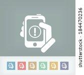 alert mobile device | Shutterstock .eps vector #184470236