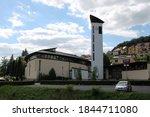 Modern Church In Luha Ovice ...
