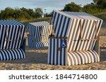 Beach Chairs On The Beach Of ...