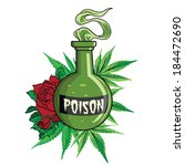 Постер, плакат: Bottle of poison on