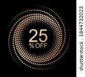 25  off  vector graphic element ...   Shutterstock .eps vector #1844732023