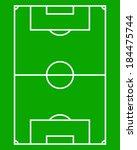 soccer field | Shutterstock .eps vector #184475744