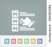 car list selection   Shutterstock .eps vector #184482086