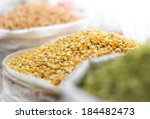 corn seeds and other grains in...   Shutterstock . vector #184482473