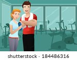 a vector illustration of... | Shutterstock .eps vector #184486316