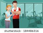 a vector illustration of... | Shutterstock .eps vector #184486316