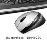 wireless optical mouse over... | Shutterstock . vector #18449230