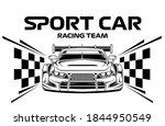sport car racing vector... | Shutterstock .eps vector #1844950549