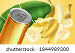 Banana Slice Flying With Canned ...