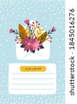 Christmas Card Envelope With...