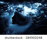 geometry of the soul series two.... | Shutterstock . vector #184503248