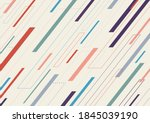 abstract geometric dash lines... | Shutterstock .eps vector #1845039190