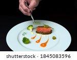 Chef's Hand With Tweezers...
