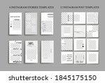 design backgrounds for social...   Shutterstock .eps vector #1845175150