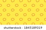 Yellow Pattern With Red Message ...