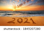 Happy New Year 2021  Written...