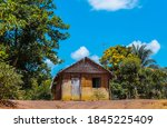 Clay House And Thatched Roof In ...