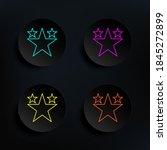 popular video dark badge color...