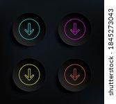 arrow to down dark badge color...