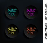 alphabet sketch dark badge...