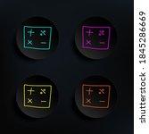mathematical signs sketch dark...