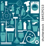 clean set | Shutterstock .eps vector #184529213