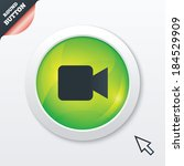 video camera sign icon. video...