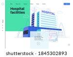 medical insurance   hospital... | Shutterstock .eps vector #1845302893