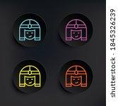 cleopatra dark badge color set...