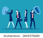 customer protection and... | Shutterstock .eps vector #1845370600