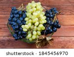 Clusters Of Ripe Table Blue...