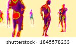 3d illustration  3d rendering... | Shutterstock . vector #1845578233