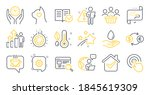 set of business icons  such as... | Shutterstock .eps vector #1845619309