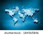 background digital image of... | Shutterstock . vector #184565846