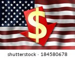 united states flag | Shutterstock . vector #184580678